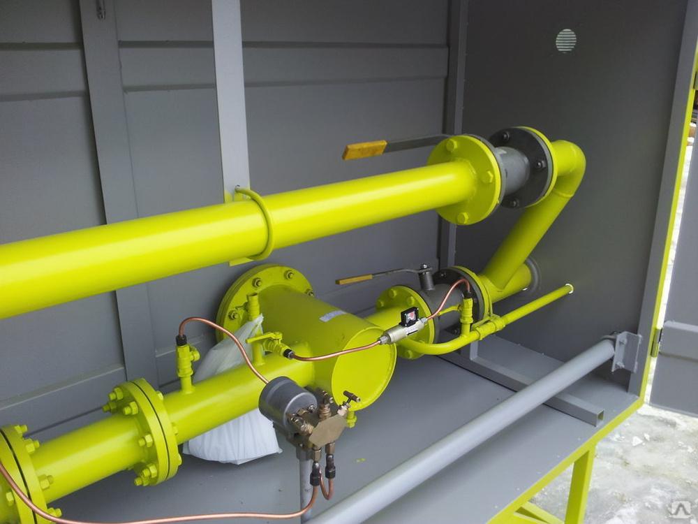 Пункты учета расхода газа ПУРГ-100